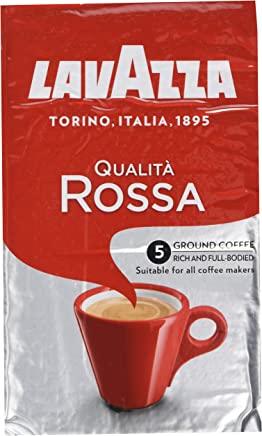 Lavazza Qualita Rossa Coffee 500g (Pack of 2)