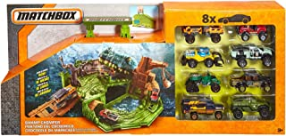 Matchbox Swamp Chomper Foldable and Transforming Vehicle Play Set include 8 offroad Matchbox Vehicle fits inside play set
