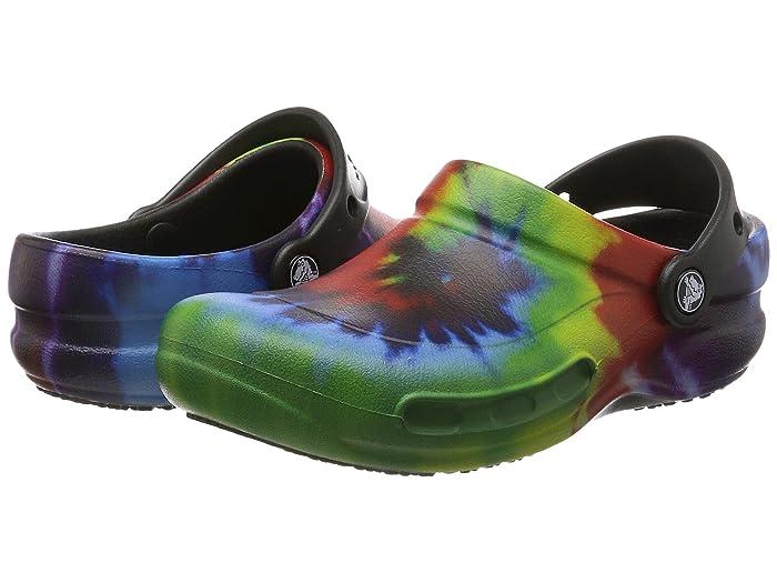 Crocs Work Bistro Graphic Clog   Zappos.com