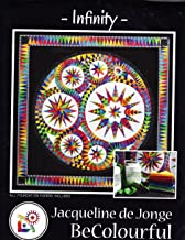 Infinity Foundation Pieced Quilt Pattern by Jacqueline de Jonge from Be Colorful 73.5
