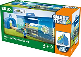 BRIO World - 33918 Smart Railway Workshop | 3 Piece Toy Train Accessory for Kids Ages 3 and Up
