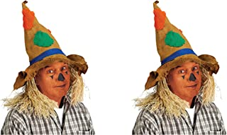 Beistle Scarecrow hat, Multicolored