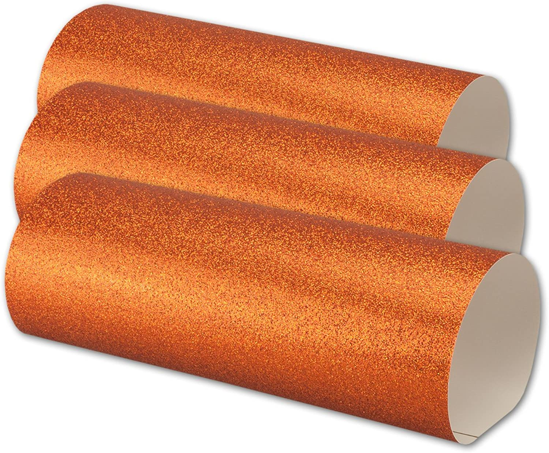 25x Artoz Glitter Papier -selbstklebend- DIN A4    kupfer    glitzerndes Papier - Bastelpapier - Scrapbooking B0742G1LH9 | Helle Farben