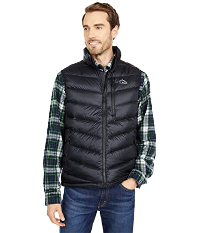L.L.Bean Ultralight 850 Down Vest (Black) Men