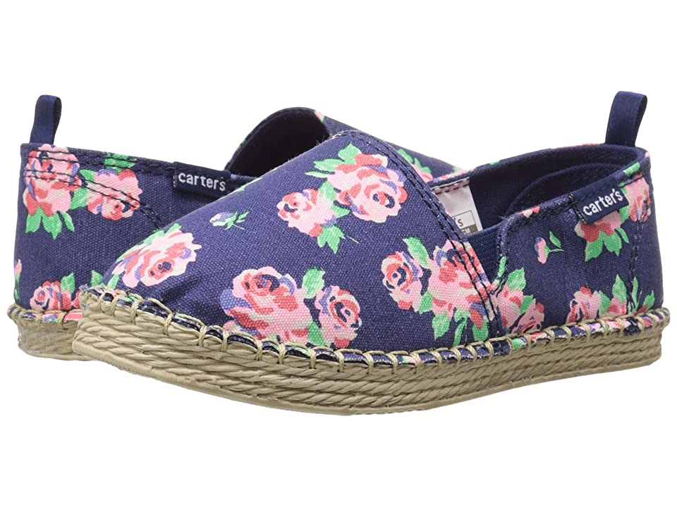 Carters Astrid (Toddler/Little Kid) (Navy Floral) Girl