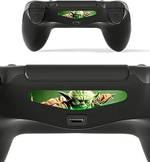 GNG 2X LED Starwars Yoda Light Bar Decal Sticker for Playstation 4 / Slim/Pro PS4 Controller DualShock 4