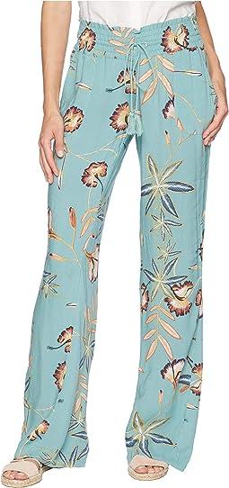 Oceanside Printed Viscose Pants