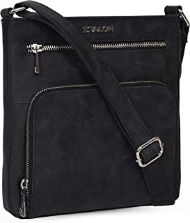 Crossbody Bags for Women - Leather Travel Purse with Adjustable Shoulder Strap