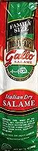 13oz Gallo Italian Dry Salami Chub #1 Selling Family Size