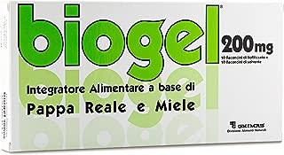 Biogel 200 - Integratore Alimentare per adolescenti - giovani (10-18 anni) a Base di Pappa Reale e di Miele.