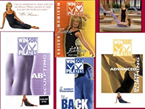Winsor Pilates 4 DVD DELUXE SET: AB SCULPTING + BACK WORKOUT + MAXIMUM BURN BASICS & FAT BURNING + ADVANCED BODY SLIMMING. Get toned and sculpted, while losing weight at the same time!