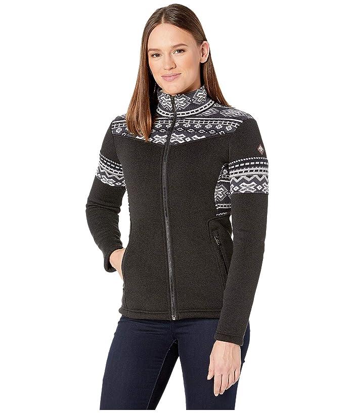 Bella Full Zip Fleece Jacket (Black) Women's Coat