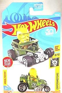 Hot Wheels 2018 50th Anniversary Experimotors Skull Shaker 218/365, Green