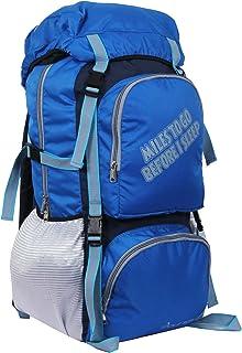 POLESTAR Rocky Polyester 60 Lt Royal Blue Rucksack/Travel/Hiking/Weekend Backpack Bag