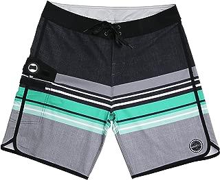 349tg1u Green Yellow Pineapple Mens Swim Trunks Shorts Athletic Swimwear Briefs Boardshorts