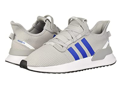 adidas Originals Kids U_Path Run J (Big Kid) (Grey/Blue/White) Boys Shoes
