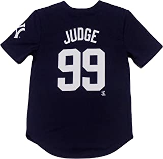 Outerstuff Aaron Judge New York Yankees Navy Blue Youth Player Jersey