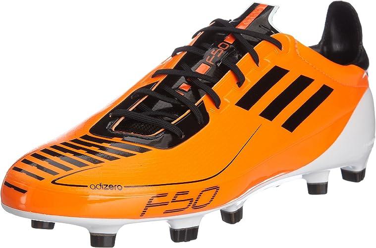 adidas F50 Adizero TRX FG (Syn), Chaussures football homme, Orange ...