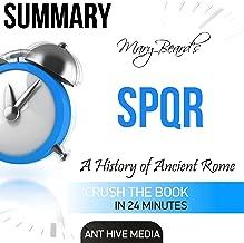 Summary of Mary Beard's SPQR: A History of Ancient Rome