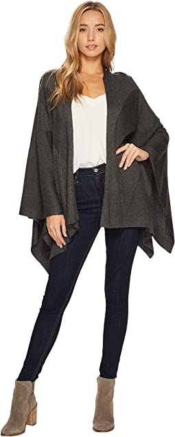HEATHER - Stria Poncho