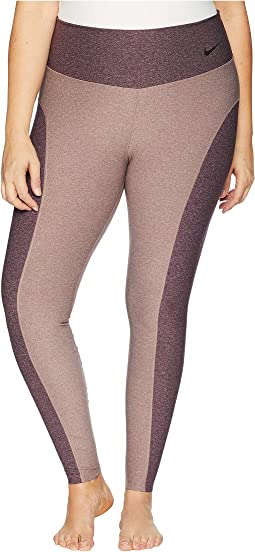 Power Color Block Studio Tights (Size 1X-3X)