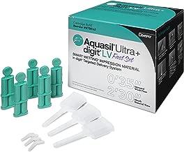 DNC Aquasil Ultra+ Digit Smart Wetting Wash Impression Material Vinylpolysiloxane Small Refill Low Viscosity Fast Set Teal Mint 50/Package