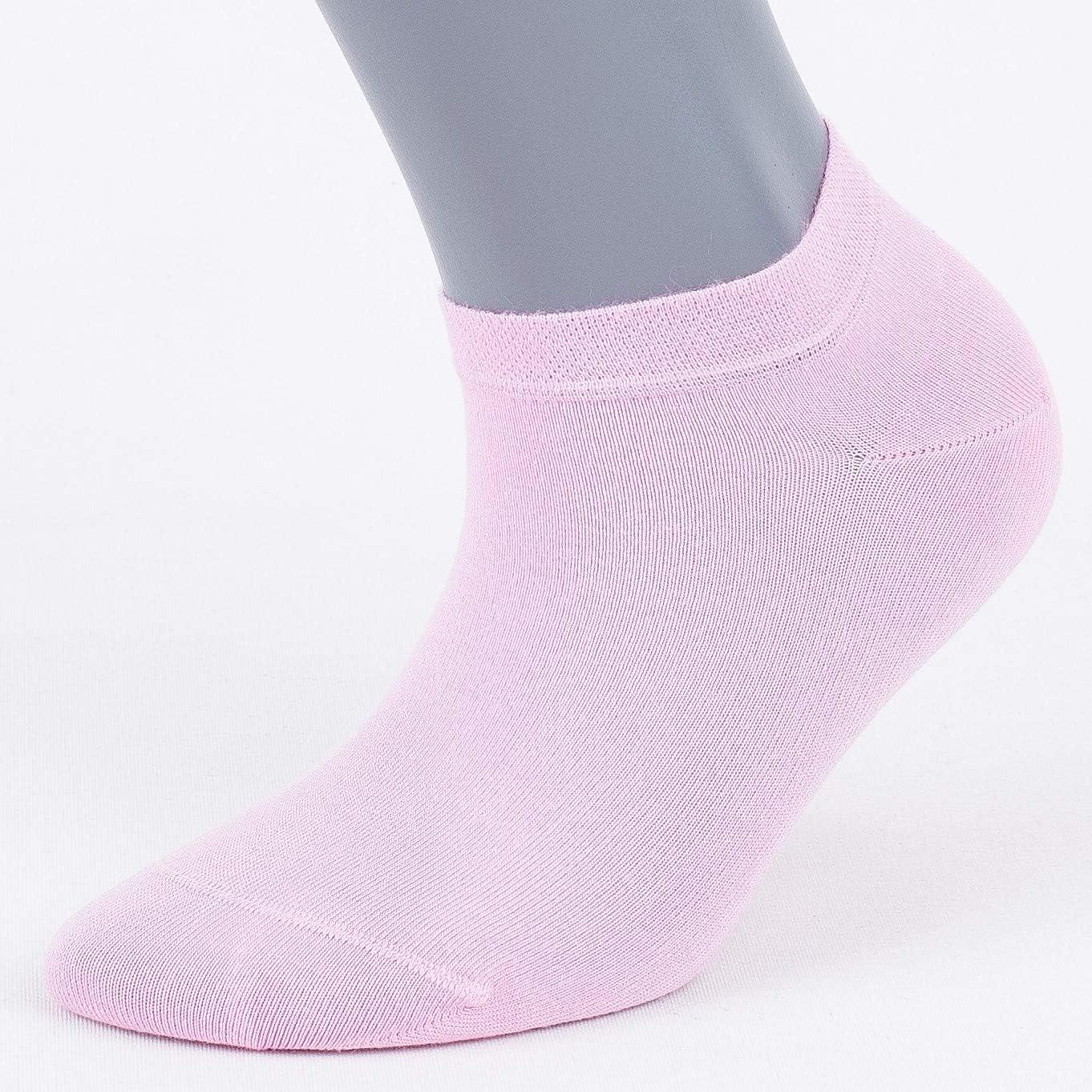 Wishsox Socquettes en bambou pour hommes femmes Chaussettes courtes confortables respirantes douces lot de 4 paires Bamboo invisible sneaker ankle socks
