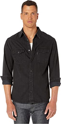538c8e2948 The Kooples. Paisley Print Button Down Shirt. $198.00. Luxury. Black Washed