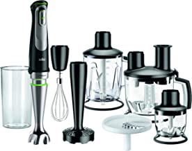 Braun MultiQuick 9, Hand Blender & Food Processor, MQ9087X, Black