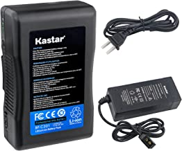 Kastar Charger and BP-C201 Broadcast Battery Brick 14.8V 13600mAh 201Wh for Anton Bauer Digital 90 Gold Mount, ARRI Alexa Minicamera, Aja Cion Camera Body, Blackmagic Design URSA, Cine Alta Camera