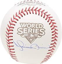 Mariano Rivera New York Yankees Autographed 2009 World Series Logo Baseball - Fanatics Authentic Certified