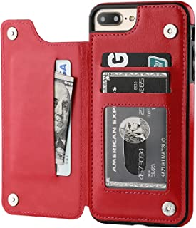 Best red iphone 8 plus wallet case Reviews