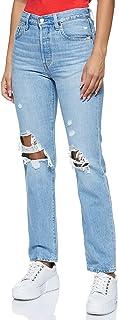 Levi's womens 501 Crop Boyfriend Jeans