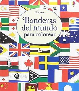 Banderas del mundo para colorear