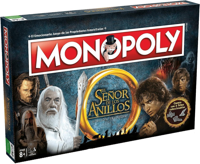 El Señor de los Anillos Monopoly der Herr der Ringe B071FSRVC9 Ab dem neuesten Modell     | Creative