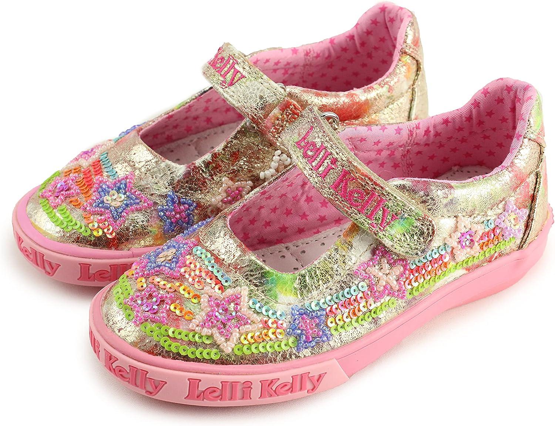 Lelli Kelly Girls Mary Jane Shoes (LK 3026 Gold)