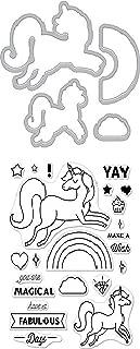 Hero Arts DC208 Stamp & Cut, Unicorn