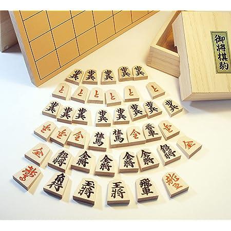 天童将棋駒&折り盤5号セット木製 国産品質