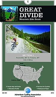 Great Divide Mountain Bike Route #1: Roosville, Montana - Polaris, Montana (542 Miles)