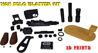 3D Cauldron Han Solo Blaster Kit ( Not an Official Star Wars Blaster ) (Blaster with Stand)