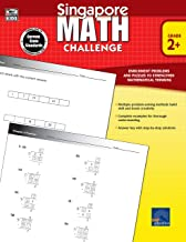 Singapore Math – Challenge Workbook for 2nd, 3rd, 4th, 5th Grade Math, Paperback, Ages 7–11 with Answer Key