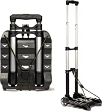 RMS Folding Luggage Cart – Lightweight Aluminum Collapsible and Portable Fold Up..