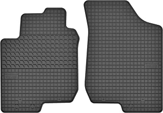 Motohobby Gummimatten Vorne Gummi Fußmatten Satz für Hyundai i30 I (2007 2012) / Kia Cee'd I (2007 2012) / Pro_Cee'd I (2008 2012)   2 teilig   Passgenau