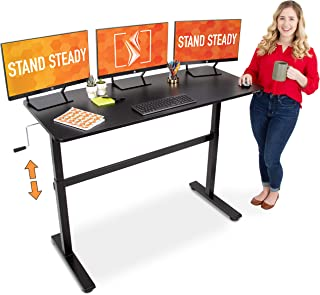 """Stand Steady Tranzendesk 55 Inch Standing Desk 