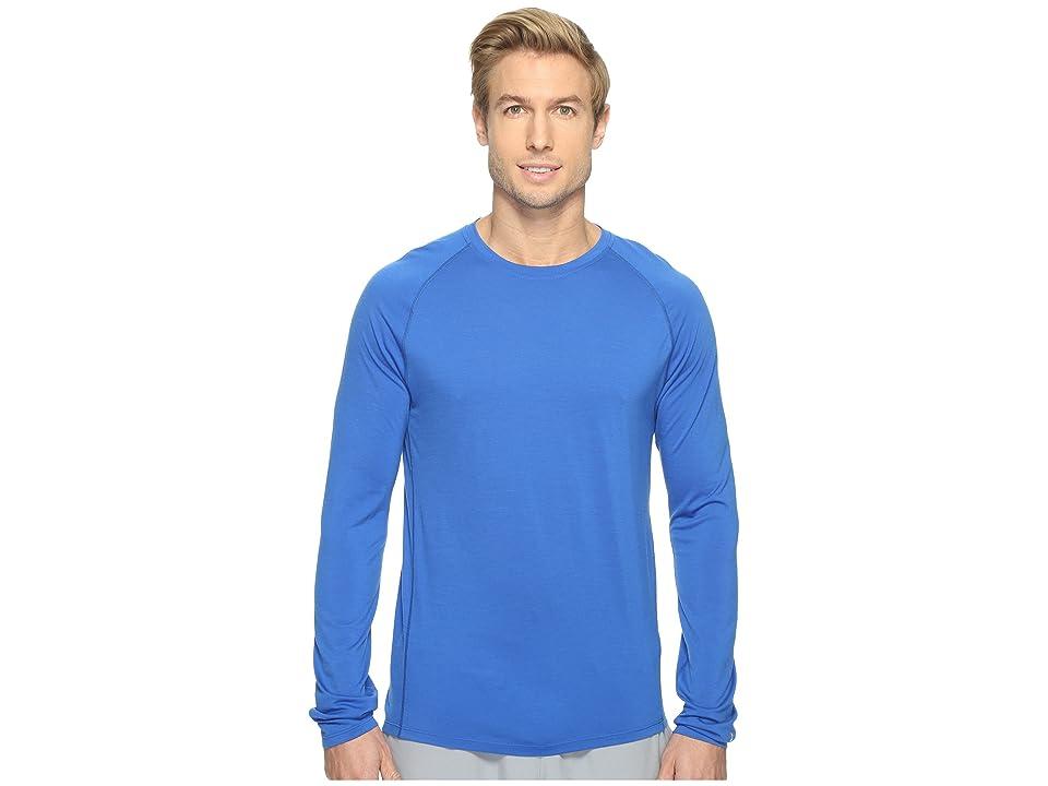 Smartwool Merino 150 Baselayer Long Sleeve (Bright Blue) Men