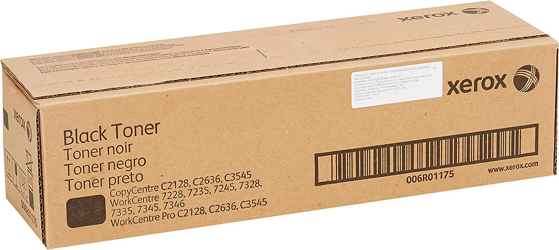 Xerox 006R01175 CopyCentre C2128 C2636 C3545 WorkCentre 7228 7235 7245 7328 7335 7345 7346 Toner Cartridge (Black) in Retail Packaging