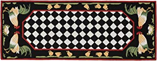 KensingtonRow Home Collection Area Rugs - French Country Rooster Indoor Outdoor Rug - 24