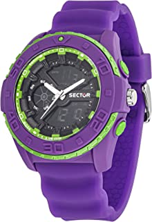 Sector street fashion Mens Analog/digital Quartz Watch with Silicone bracelet R3251197043