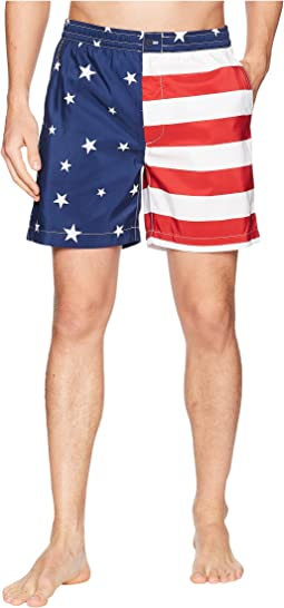 Flag Prepster Swim Trunk
