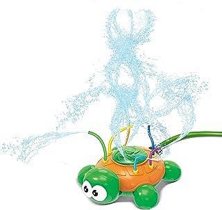 JOYIN Water Sprinkler Toy Hydro Swirl Spinning Splash Turtle for Kids Outdoor Water Play Fun